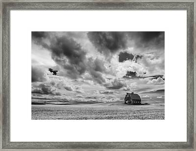 Farm Country Framed Print by Ryan Manuel