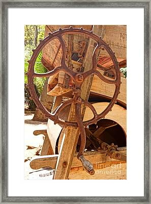 Farm Crank Framed Print