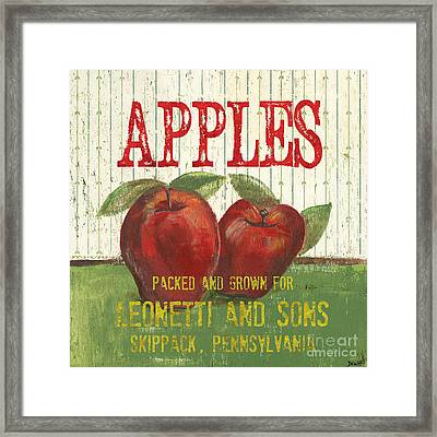 Farm Fresh Fruit 3 Framed Print by Debbie DeWitt