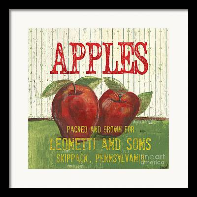 Apple Green Framed Prints