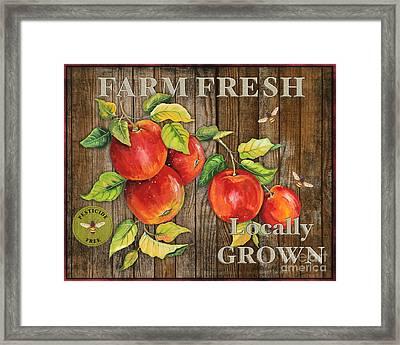 Farm Fresh-jp2130 Framed Print by Jean Plout