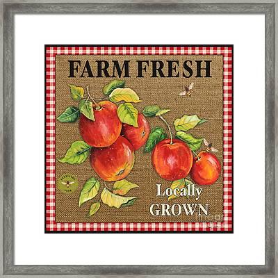 Farm Fresh-jp2380 Framed Print by Jean Plout