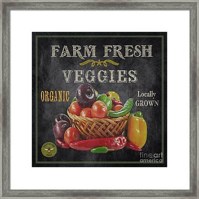 Farm Fresh-jp2637 Framed Print by Jean Plout