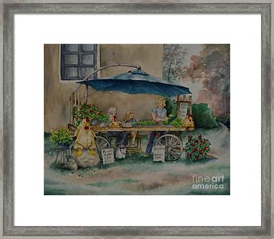 Farm Fresh Framed Print by Kathleen Keller