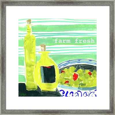 Farm Fresh Framed Print by Pamela J. Wingard