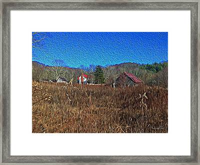 Farm House 2 Framed Print