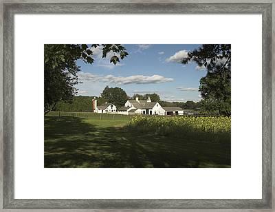 Farm House In Pa Framed Print