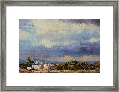 Farm In The Karoo Framed Print