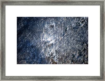 Farm In The Woods On A Hill Framed Print by Paulette B Wright