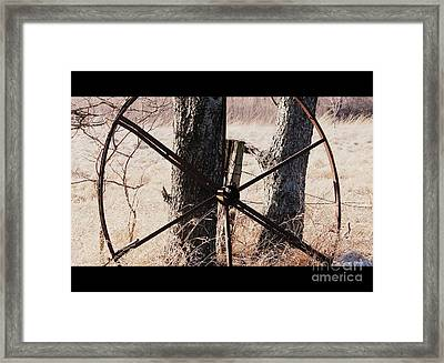 Framed Print featuring the photograph Farm Life by Christie Minalga