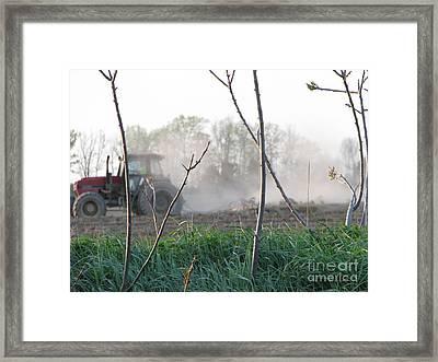 Framed Print featuring the photograph Farm Life  by Michael Krek