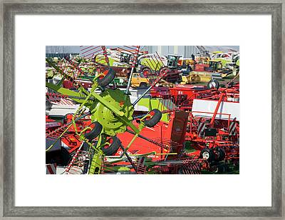 Farm Machinery Framed Print