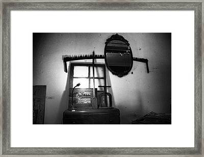 Farm Salvage Found Objects Store II Framed Print