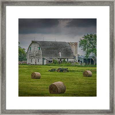 Farm Scene Framed Print by Paul Freidlund
