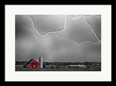 Mcintosh Farm Framed Prints