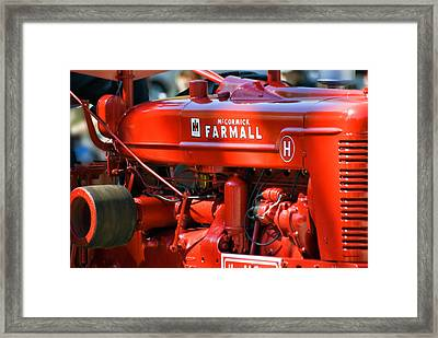 Farm Tractor 11 Framed Print
