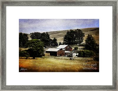Farm View Framed Print by Jacque The Muse Photography