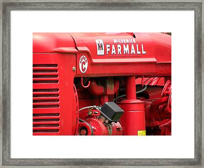 Farmall Framed Print