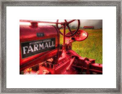 Farmall Morning Framed Print