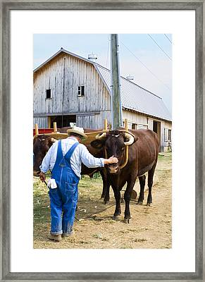 Farmer Framed Print