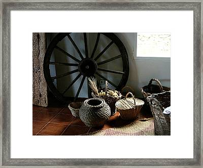 Farmers Decor Framed Print