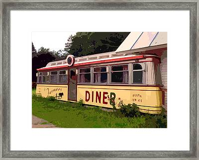Farmers Diner Framed Print by Jean Hall