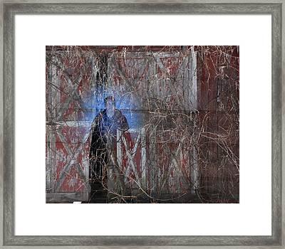 Farmer's Eulogy Framed Print by Jim Cook
