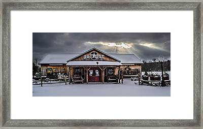 Farmers Inn Outpost Framed Print
