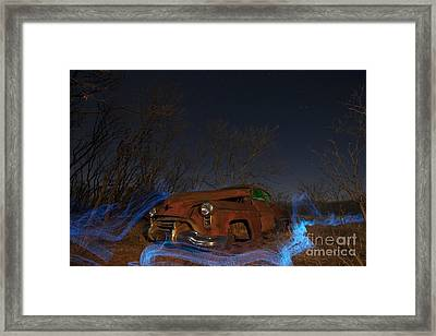 Farmers Limo Framed Print