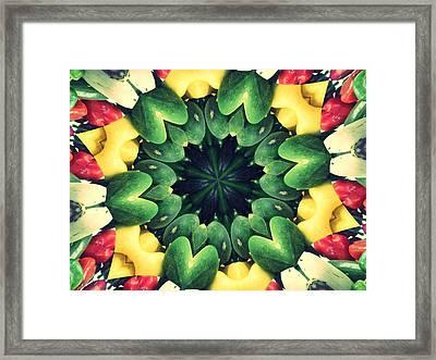 Farmer's Market Collide-a-scope Framed Print
