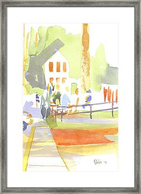 Farmers Market II  Framed Print by Kip DeVore