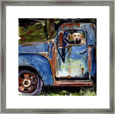 Farmhand Framed Print