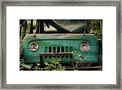 Farmhouse Fc Framed Print by Luke Moore