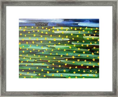 Farmhouse On The Hill Framed Print by Patrick J Murphy