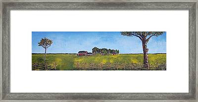 Farmhouse Framed Print by Zeke Nord