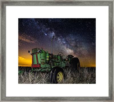 Farming The Rift 2 Framed Print
