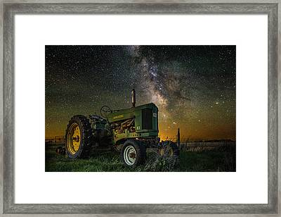 Farming The Rift 3 Framed Print by Aaron J Groen