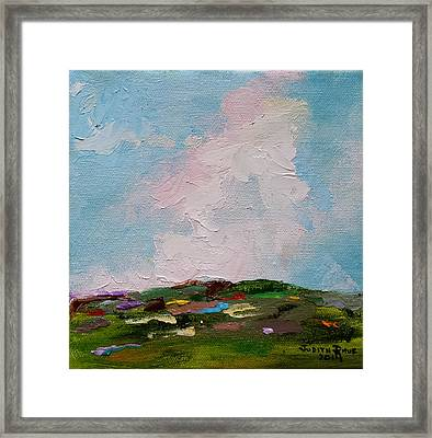 Farmland Iv Framed Print