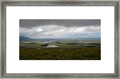 Farms - Drakensberg Range - South Africa Framed Print