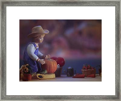 Farmstand 3 Framed Print by JP Design