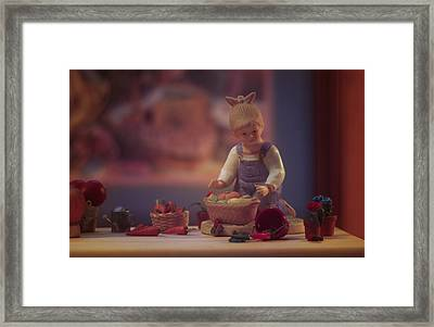 Farmstand 4 Framed Print by JP Design