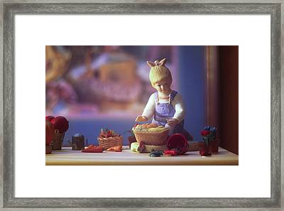 Farmstand 7 Framed Print by JP Design