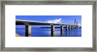 Farobridge, Denmark Framed Print by Panoramic Images