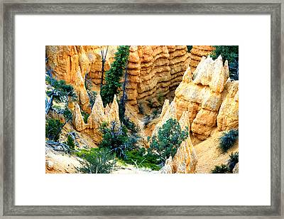 Faryland Canyon Bryce Canyon National Monument Framed Print