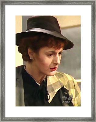 Fashion 1950 Framed Print by Bryan Crawley