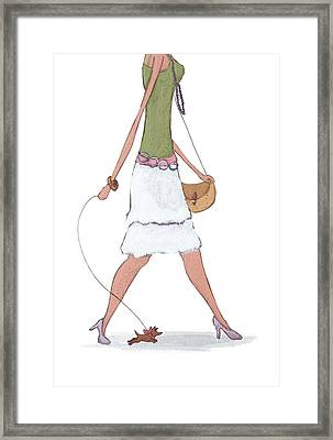 Fashion Framed Print by Christy Beckwith
