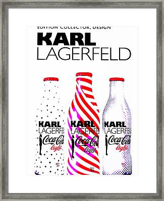 Fashion Coca Cola  Framed Print