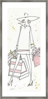 Fashion Feet Vi Framed Print
