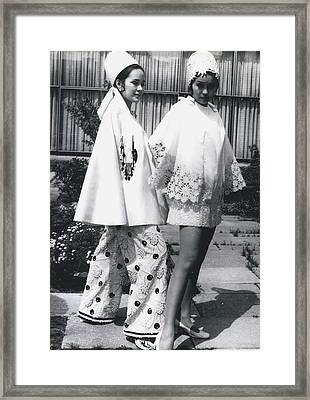 Fashion Form The Philippine Islands� Framed Print by Retro Images Archive