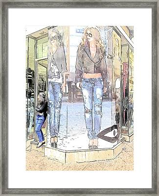 Fashion Framed Print by Heiko Koehrer-Wagner